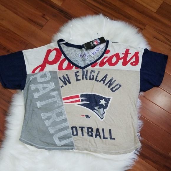 brand new 70724 bbda4 New England Patriots, Touch by Alyssa Milano, Med NWT